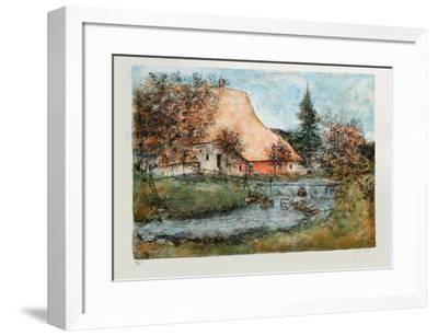 Grande Ferme De Montagne-Bernard Gantner-Framed Limited Edition