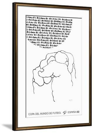 Bilbao Affiche-Eduardo Chillida-Framed Collectable Print