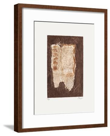 Composition XII-Thierry Buisson-Framed Limited Edition