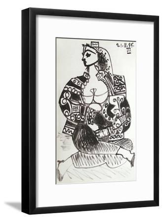 Carnet de Californie 02-Pablo Picasso-Framed Premium Edition