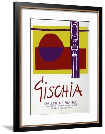 Expo Galerie De France-L?on Gischia-Framed Collectable Print