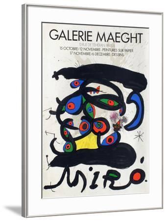 Expo 71 - Galerie Maeght-Joan Mir?-Framed Premium Edition