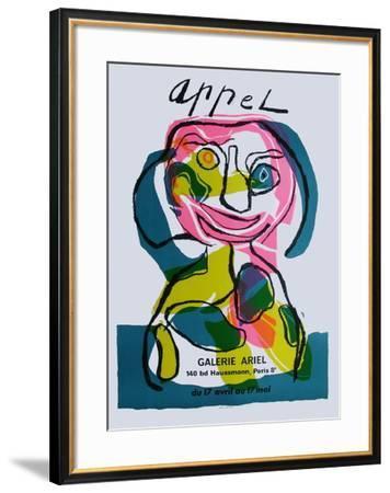 Expo Galerie Ariel-Karel Appel-Framed Collectable Print