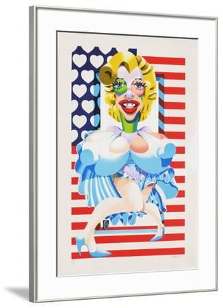 Marilyn Monroe-Didier Chamizo-Framed Limited Edition
