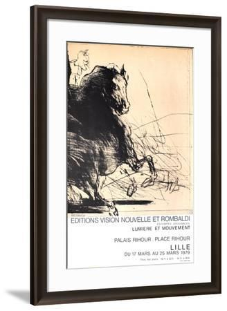 Expo Lille-Claude Weisbuch-Framed Collectable Print