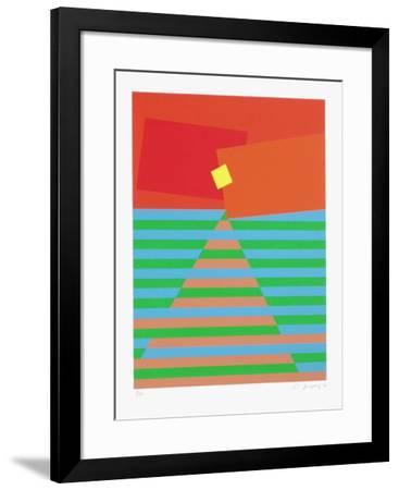 Composition Abstraite-Li Jagyong-Framed Limited Edition