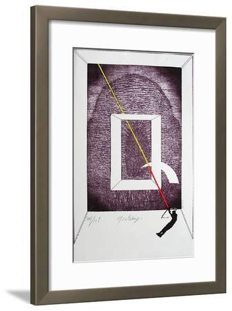 La Grande Arche-Guy Rachel Grataloup-Framed Limited Edition