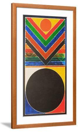 Composition II-Sayed Haider Raza-Framed Limited Edition