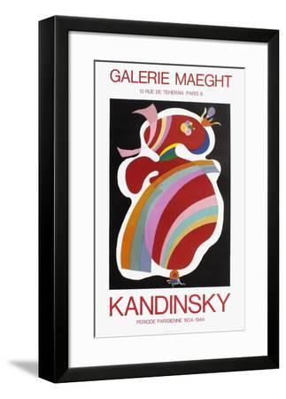 Expo Galerie Maeght II-Wassily Kandinsky-Framed Art Print