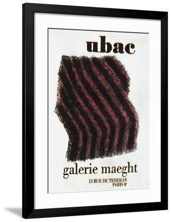 Expo Maeght 72-Raoul Ubac-Framed Collectable Print