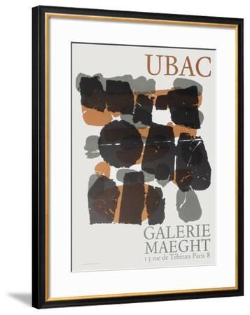 Expo Maeght 66-Raoul Ubac-Framed Collectable Print
