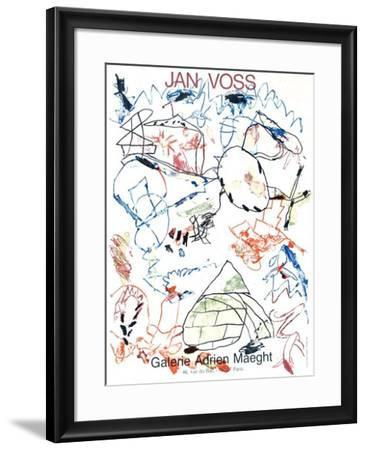 Expo Maeght 82-Jan Voss-Framed Collectable Print
