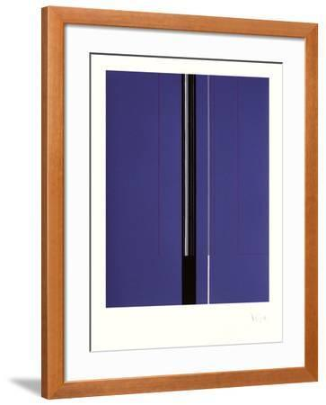 Composition Abstraite VIII-Luc Peire-Framed Limited Edition