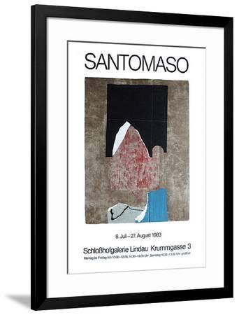 Expo Schlosshofgalerie Lindau-Giuseppe Santomaso-Framed Premium Edition