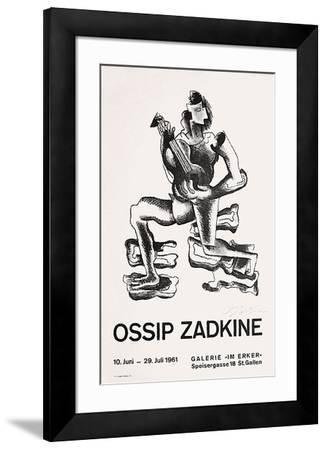 Expo Galerie Im Erker-Ossip Zadkine-Framed Premium Edition