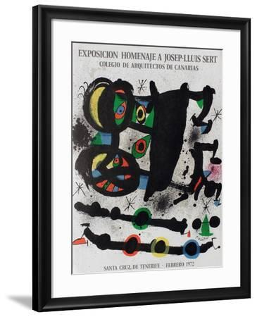 Expo 72 - Homenaje A Josep-Lluis Sert-Joan Mir?-Framed Premium Edition