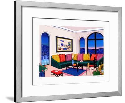 A New York Night In L.A.-Fanch Ledan-Framed Limited Edition