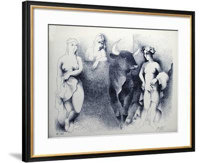 Le Minotaure-Manolo Ruiz Pipo-Framed Collectable Print