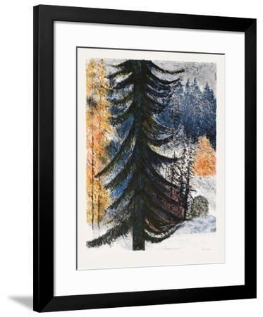 Le sapin solitaire-Guy Bardone-Framed Limited Edition