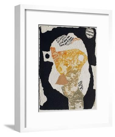 New trace III-Alain Soucasse-Framed Limited Edition