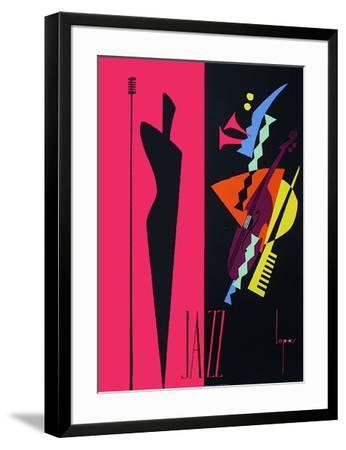 Jazz-Lepas-Framed Collectable Print