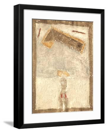Fresque Ocre II-Thierry Buisson-Framed Limited Edition
