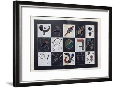 Composition X-Wassily Kandinsky-Framed Premium Edition