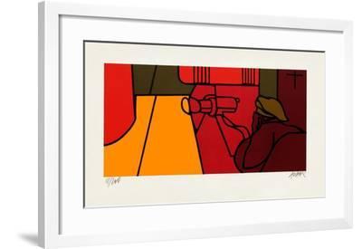 Etude Pour La Porte De Brandebourg-Valerio Adami-Framed Limited Edition