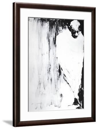 Gandhi II-Ahmed Shahabuddin-Framed Limited Edition