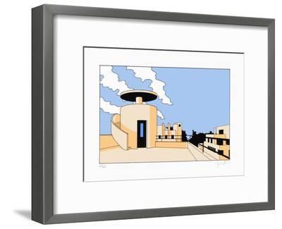 Paris, Rue Mallet-Stevens 03-Jean-Pierre Lyonnet-Framed Limited Edition