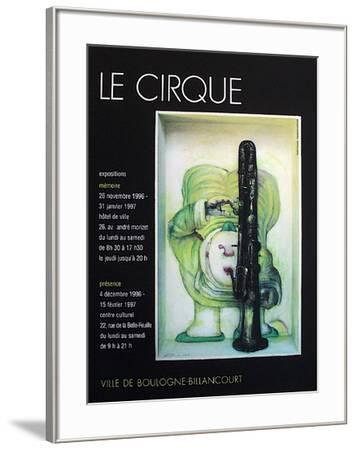 Le Cirque-Andr? Fran?ois-Framed Collectable Print