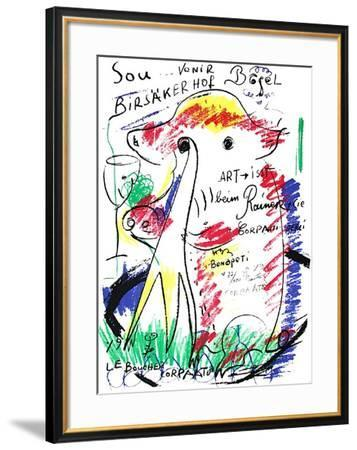 Souvenir-Jean-Pierre Corpaato-Framed Limited Edition