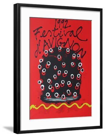 Festival D'Avignon 1992-Ezio Frigerio-Framed Collectable Print