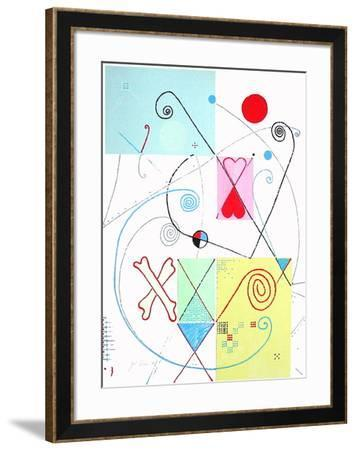L'os du cosmos-Jacques & Catherine Pineau-Framed Limited Edition
