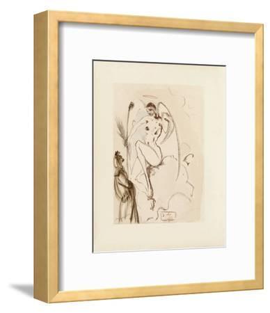 Divine Comedie, Paradis 31: L'Archange Gabriel-Salvador Dal?-Framed Collectable Print