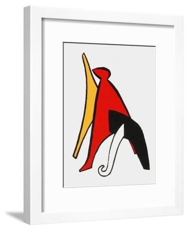Derrier le Mirroir, no. 141: Stabiles V-Alexander Calder-Framed Collectable Print