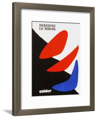 Derrier le Mirroir, no. 190: Composition I-Alexander Calder-Framed Collectable Print