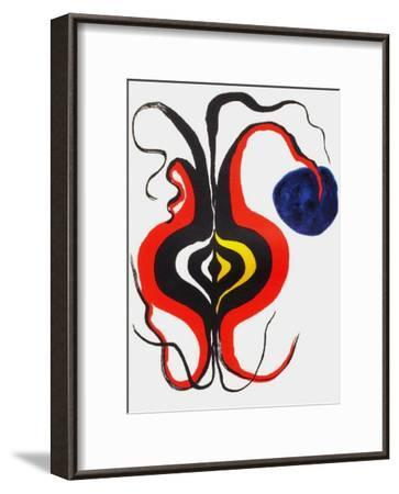 Derrier le Mirroir, no. 156: Bulbe-Alexander Calder-Framed Collectable Print