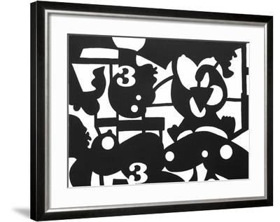 Inframonde 3-Jos? De Guimaraes-Framed Limited Edition