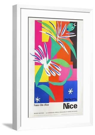 Expo Musée Matisse Danseuse Créole-Henri Matisse-Framed Premium Edition