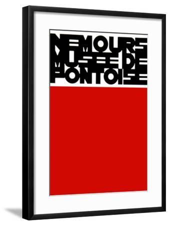 Musée De Pontoise-Aur?lie Nemours-Framed Limited Edition