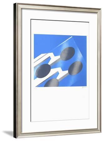 Grenoble - Verre-Alberto Bali-Framed Serigraph