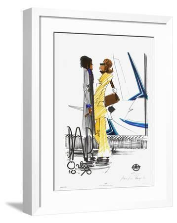 Ciao - Paris Orly 10.70-Florent Margaritis-Framed Limited Edition