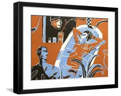 David Au Bain-Laurent Corvaisier-Framed Collectable Print