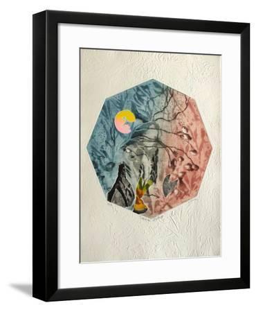 Sérénade Nocturne-Osanne-Framed Limited Edition
