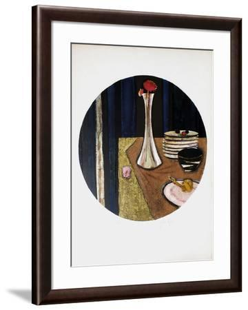 Le SoIIflore-Ren? Genis-Framed Limited Edition