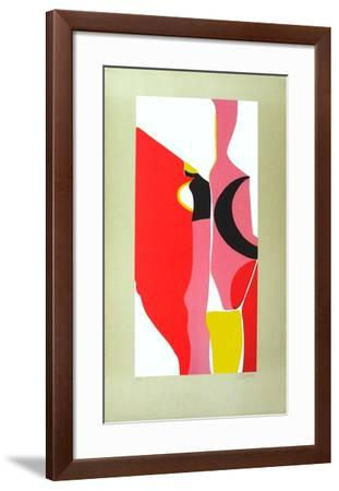 Composition Abstraite II-Georges Csato-Framed Limited Edition