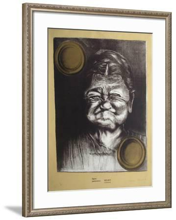 Signes particuliers : néant-Christian Zeimert-Framed Limited Edition