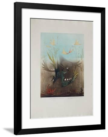 Les Pêcheurs De Crépuscule--Framed Limited Edition