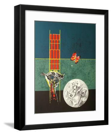 Composition VII-Olle Svanlund-Framed Collectable Print